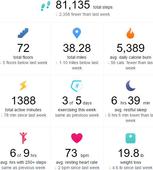 5-30-17 Fitbit Data